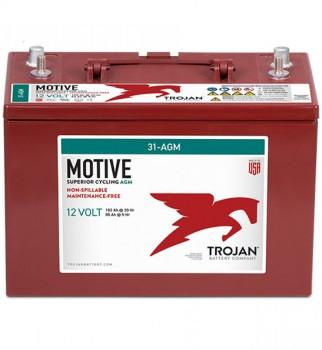 Acumulator pe gel monobloc Monobloc TROJAN 31-AGM