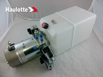 Ansamblu electromotor, bobine, pompa hidraulica si rezervor pentru nacele verticale Haulotte