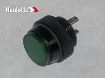 Bec indicator verde pentru nacele Haulotte