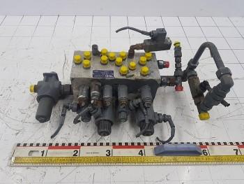 Bloc hidraulic macara Liebherr LTM 1055 - 3. 2