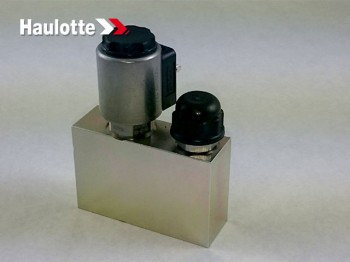 Bloc hidraulic pentru coborare urgenta nacela verticala Haulotte