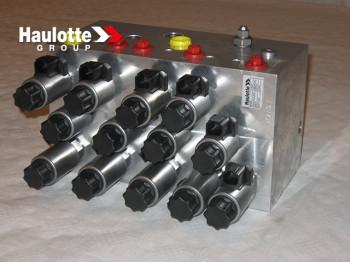 Bloc hidraulic valve proportionale pentru nacela Haulotte