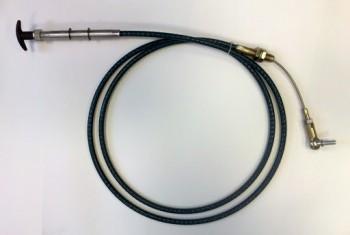 Cablu de comanda - blocare brat pentru buldoexcavator JCB 3CX 4CX 2001->