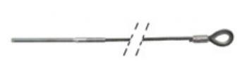 Cablu de otel pentru nacele Aichi