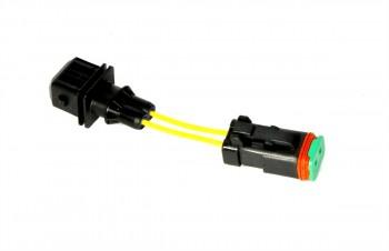 Cablu flexibil - 2 sensuri, 40 mm Deutsch-AMP/Jr Timer pentru buldoexcavator JCB