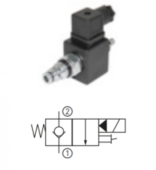 Cartus hidraulic cu bobina 24 V pentru nacelaJLG