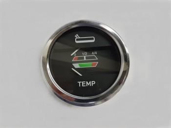 Ceas indicator temperatura si combustibil pentru tractor Fiat