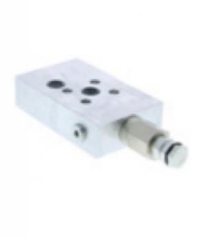 Circuit hidraulic integrat cu cartus pentru nacela Manitou