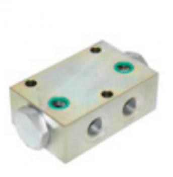 Circuit hidraulic integrat cu cartus pentru nacele Haulotte