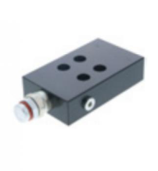Circuit hidraulic integrat cu cartus pentru naceleManitou
