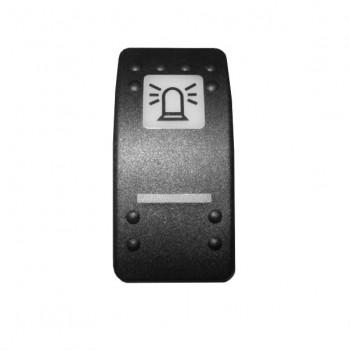 Clapeta buton girofar pentru buldoexcavator  JCB 2CX 3CX 4CX LOADALL  si MINI EXCAVATOR PE SENILE