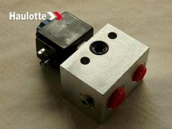 Distribuitor hidraulic pentru cilindru ridicare nacela foarfeca diesel Haulotte DX / RTE