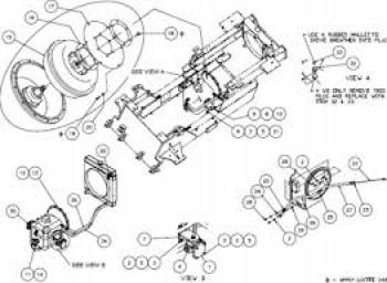 Distribuitor hidraulic pentru stivuitor GPL Manitou CG25P