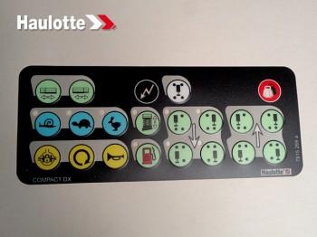 Eticheta telecomanda nacela Haulotte COMPACT DX