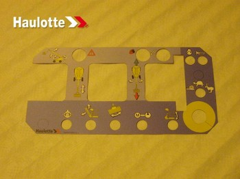 Eticheta telecomanda nacela Haulotte H21 TX H 23 / 25 TPX