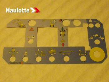 Eticheta telecomanda nacela Haulotte HA 16 / 18 PX