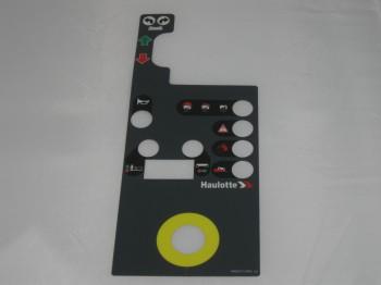 Eticheta telecomanda nacela Haulotte STAR 6 AC