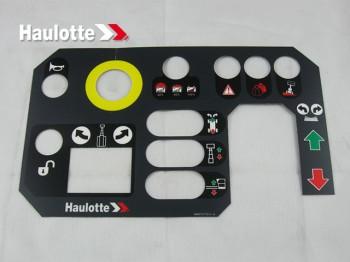 Eticheta telecomanda nacele Haulotte STAR 8, STAR 10