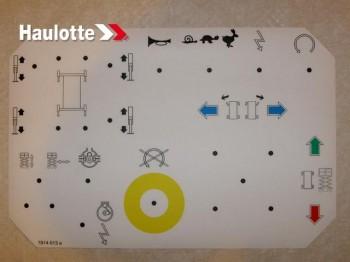 Eticheta telecomanda pentru nacele Haulotte