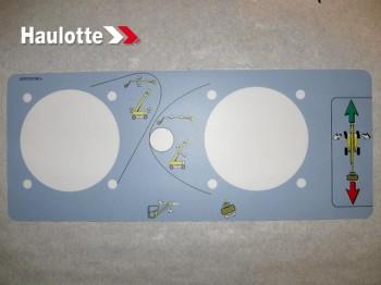 Etichete telecomanda nacela Haulotte HA 41 PX / HA 32 RTJ