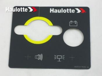 Etichete telecomanda nacele Haulotte