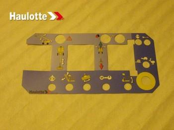 Etichete telecomenzi nacele Haulotte H 16 TPX