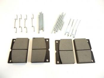 Kit placute de frana (75mm), o axa, pentru buldoexcavator JCB FASTRAC