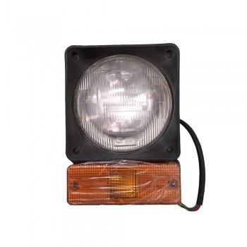 Lampa -far 12V  pentru buldoexcavator  JCB 3CX 4CX