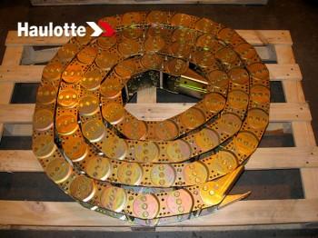 Lant portcablu pentru nacela articulata de tip Haulotte