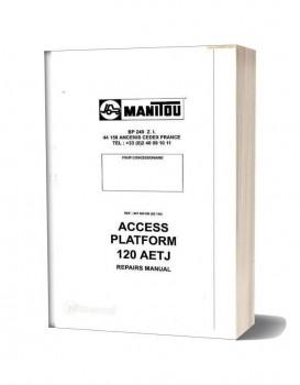 Motor electric pentru nacela articulata electrica Manitou 120 AETJ