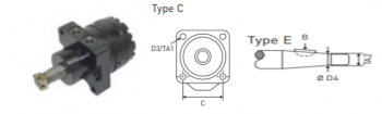Motor hidraulic pentrunacela marca Upright
