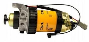 Pompa amorsare motor / baterie filtru pentru buldoexcavator JCB  3CX 4CX