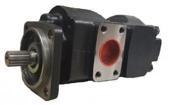 Pompa hidraulica 16/14 gpm pentru buldoexcavator JCB 3CX 4CX