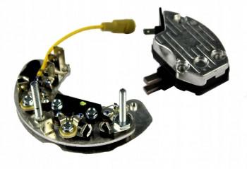 Redresor alternator 12V pentru buldoexcavator JCB