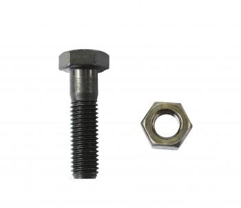 Surub si piulita - bilateral pentru dinti cupa miniexcavator   JCB MINI 801