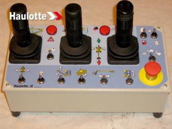 Telecomanda ridicare platforma cu 3 joystick-uri pentru nacelearticulate HaulotteHA26PX, HA260PX,HA20PX,HA20P