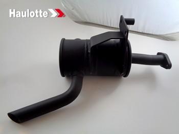 Toba de esapament pentru nacela foarfeca Haulotte Compact 10DX / Compact 12DX