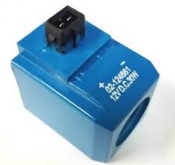 Ventil, electrovalva bobina pentru buldoexcavator JCB 3CX 4CX