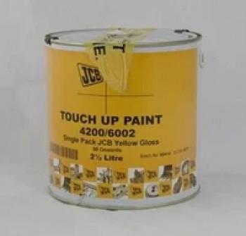 Vopsea - culoare : galben lucios - 2.5 L  pentru buldoexcavator JCB
