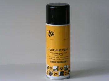 Vopsea spray aerosol galben lucios pentru buldoexcavator JCB