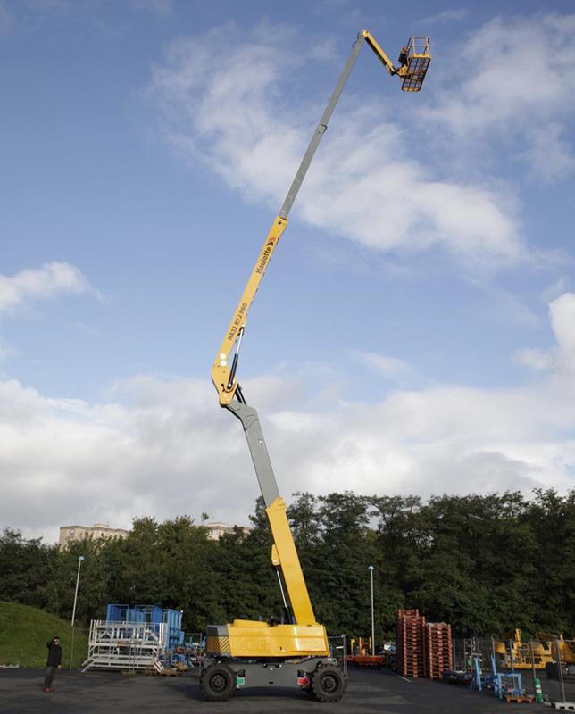 Nacela cu brat articulat 32 metri, Haulotte HA32PX