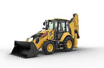 Buldoexcavator Caterpillar 432