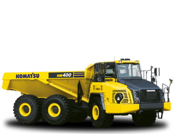 Dumper Komatsu HM400-5