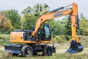 Excavator pe rotiCASEWX148