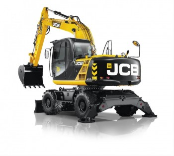 Excavator pe rotiJCB JS145W