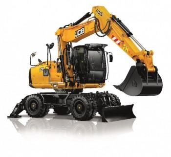 Excavator pe rotiJCB JS160W