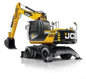 Excavator pe rotiJCB JS175W