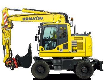 Excavator pe roti KomatsuPW148-10