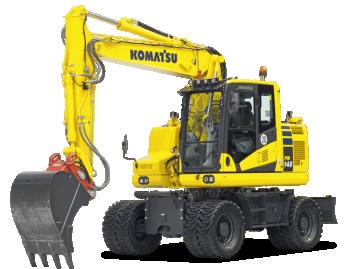 Excavator pe roti Komatsu PW148-11