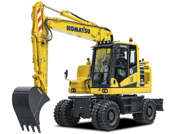 Excavator pe roti Komatsu PW158-11